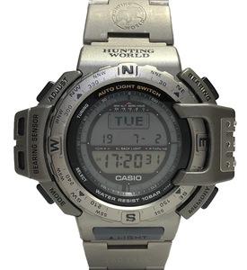カシオ 時計 プロトレック ハンティングワールド PRT-420 メンズ 紳士用 チタン CASIO HUNTING WORLD 腕時計メンズウォッチ