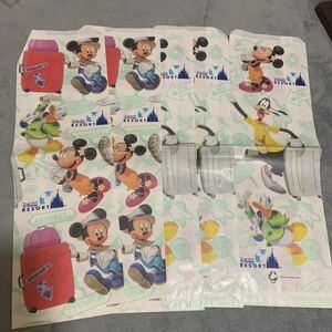 東京ディズニーランド ディズニーシー ショップ袋 紙袋 ショッパー TOKYO Disneyland TDL Disneysea TDS ディズニーリゾート