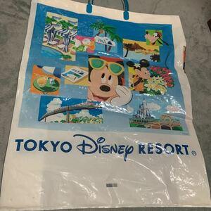 東京ディズニーランド ショップ袋 ショッパー ビニール 買い物袋 TOKYO Disneyland TDL TDS ディズニーシー ディズニーリゾート 懐かしい
