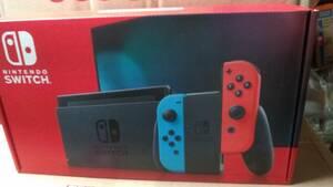 送料無料★新品 Nintendo Switch 任天堂 ニンテンドー スイッチ 本体 Joy-Con(L) ネオンブルー/(R) ネオンレッド