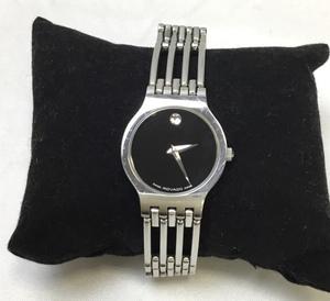 【T/稼働品/良品】MOVADO モバード 84 A1 1821 サファイアクリスタル レディース 時計 クォーツ アナログ 腕時計 MZ0728