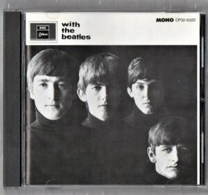 Ω ザ・ビートルズ THE BEATLES 1987年 国内盤 CP32-5322 CD/ウィズ・ザ・ビートルズ WITH THE BEATLES/ポールマッカートニー ジョンレノン