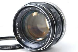 訳ありレンズ ミノルタ MINOLTA MC ROKKOR-PF 58mm F1.4 【5056884】 ♯8166
