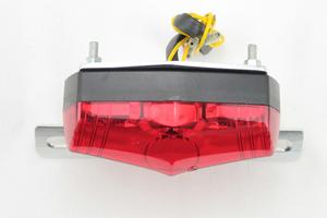 レッドLEDルーカステールランプ ウインカー付 赤 ショベル エボ ツインカム チョッパー ボバーXL1200スポーツスターFXDダイナ FXSTS