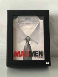 美品★海外ドラマ『マッドメン シーズン 2』DVD BOX(全13話/7枚組)★『MAD MEN/SEASON TW O』ジョン・ハム/エリザベス・モス/広告/MADMEN