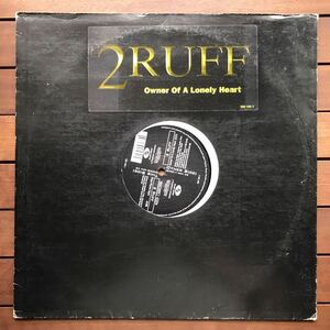 ●【eu-rap】2Ruff / Owner Of A Lonely Heart [12inch]80's _ yes/owner of a lonely heartカバーオリジナル盤《4-1-27 9595》