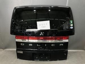 ★CV5W 三菱 デリカ D5 C2 Gナビパッケージ 平成19年 純正 バックドア バックカメラ付き M2L3 X24 黒★