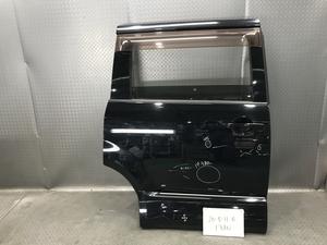 ★CV5W 三菱 デリカ D5 C2 Gナビパッケージ 平成19年 純正 右 リヤ スライド ドア イージークローザー ガラス:M2L3 X24 黒★