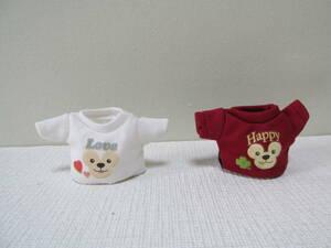 3 ディズニーシー 「ダッフィー 10マジカル・トップス  Tシャツ Love Happy」10周年 服 コスチューム 着せかえ シェリーメイ
