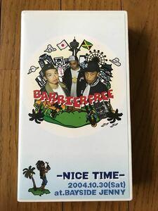BARRIER FREE バリアフリー NICE TIME ビデオテープ reggae レゲエ
