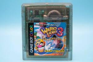 任天堂 ゲームボーイカラー GB ワリオランド3 不思議なオルゴール Nintendo Game Boy Color GB Wario Land 3 Mysterious Music Box