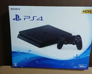 1台 新品未開封 PS4 500GB CUH-2200AB01 プレイステーション4 本体国内正規品 日本語版 パッケージ難あり