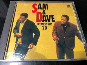 【送料込】【国内盤】サム&ディヴ / グレイテスト・ヒッツ・20