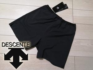 新品 デサント DESCENTE 超軽量 ストレッチ インナー付き ランニングパンツ メンズ O XL LL ブラック 定価8,000円+税 送料無料 ジョギング