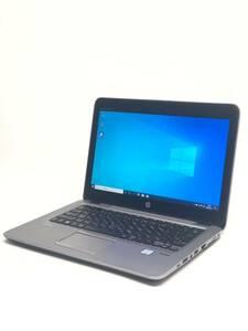 HP 820 G3 EliteBook Core i5-6300U@2.4GHz メモリ16GB/SSD256GB/無線/カメラ/12.5インチ1366*768/office2019/win10pro64bit