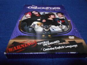 THE Osbournes The First Season 輸入版DVD(邦題:オズボーンズ 1stシーズン )2枚組