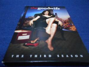 the goodwife THE THIRD SEASON 輸入版DVD(邦題:グッド・ワイフ)6枚組