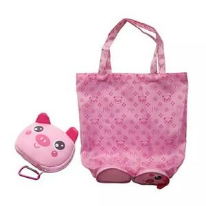 エコバッグ ショッピングバッグ レジ袋 マイバッグ 豚 ぶた ブタ PIG