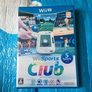 wii sports Club スポーツクラブ 未開封 新品 wii u 表紙多少色褪せあり