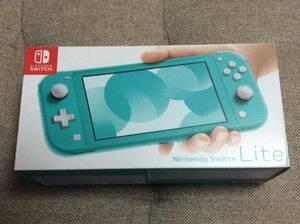 限定1台 新品未開封品 任天堂 スイッチライト Nintendo Switch Lite ターコイズ