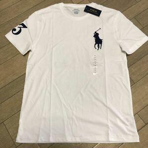 ★新品送料込★ラルフローレン 半袖Tシャツ US M 白