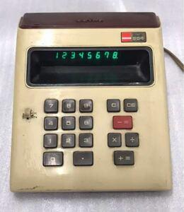 SHARP 昭和レトロ 電卓 EL-805