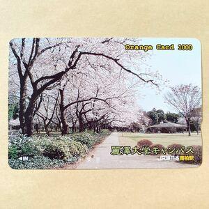 【使用済】 オレンジカード JR東日本 麗澤大学キャンパス