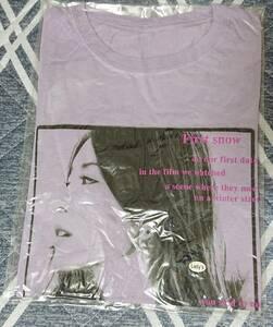 未開封 BoA 公式グッズ Tシャツ(パープル) (レディースサイズ)