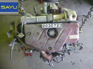ヒノ デュトロ XZU675M エンジン 19000-7CB02 N04C 5MT 4WD ターボ付 送料無料!