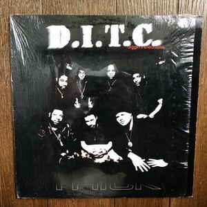 1999 DITC / Thick b/w Time To Get This Money Original US 12 AG Big L OC Diamond D DJ Premier Diggin In The Crates NYC 絶版