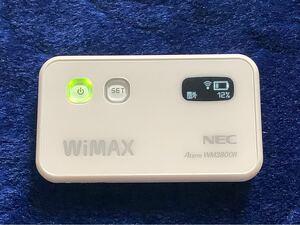 モバイルルーターAterm WM3800R