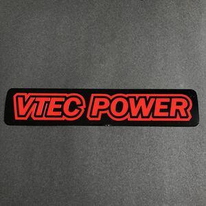 VTEC POWER ステッカー 縦3cm横19cm ホンダ シビック インテグラ NーBOX プレリュード S2000 NSX EG EK EP DC AP JF JDM USDM