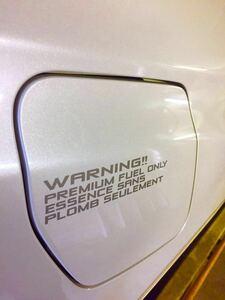 【オリジナル フューエル ステッカー 】fuel 給油口ステッカー インプレッサ レガシィ BRZ WRX STI レヴォーグ S4 など スバル車へ