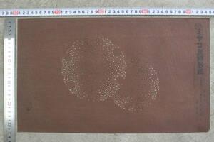 【文明館】ミヤコ友禅 型紙 染型紙 和紙 渋紙 染形 着物 和服 へ83