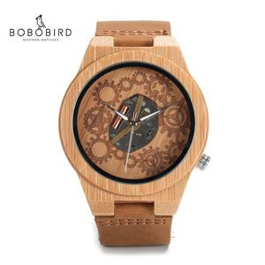 BOBO BIRD メンズ 木製 腕時計 時計 男性 S1624