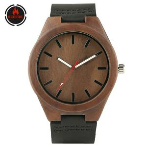 Redfire 木製 腕時計 メンズ 時計 男性 S1574