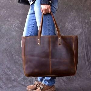 新品・良品☆トートバッグ ビジネスバッグ ショルダーバッグ ハンドバッグ レザーバッグ 本革 牛革 かばん 鞄 大容量 男性