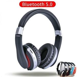 ■安心■MH7 ワイヤレスヘッドフォン Bluetooth ヘッドセット折りたたみステレオゲームイヤホンマイクIPad携帯電話用