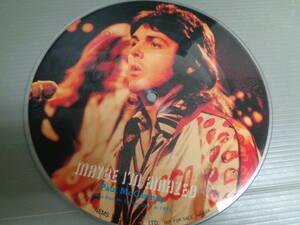 PAUL MCCARTNEY/MAYBE I'M AMAZED/JOHN LENNON/IMAGINE★シングル ピクチャーレコード