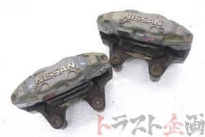 5096405 純正4POT フロントキャリパー スカイライン GT-R BNR32 中期 トラスト企画