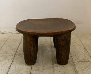 アフリカアンティークセヌフォスツールS2/プリミティヴインテリアデザイン室内装飾服飾店舗内装什器アパレルアトリエカフェアート骨董椅子