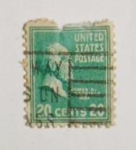 切手 アメリカ 大統領 ジェームズ・ガーフィールド James A. Garfield 20¢ 1938