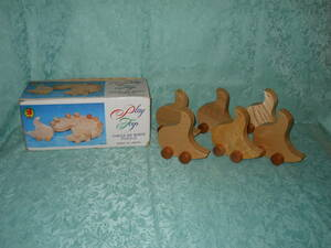木のおもちゃ 知育玩具 丸い 鳥パズル Play Toys CIRCULAR BIRDS PUZZLE 日本製 木製玩具 ブロック? 立体 パズル?積木?ひよこ?あひる?