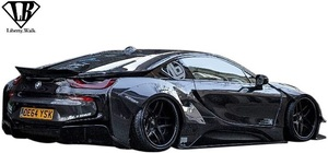 【M's】BMW i8 I12/I15 (2013y-) LB-WORKS カーボン リアウイング Ver.2//CFRP Liberty Walk リバティーウォーク エアロ ダックウイング
