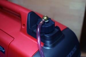 Honda EU9i EU16i EU18i 自動給油 大自工業・メルテックの携行缶に対応可能 キャンプで便利 純正加工品