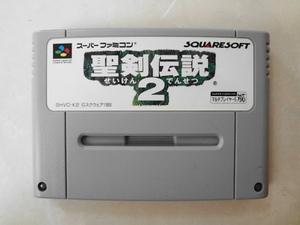 送料無料 即決 使用感あり 任天堂 スーパーファミコン SFC 聖剣伝説2 マナ スクウェア RPG シリーズ レトロ ゲーム カセット ソフト z258