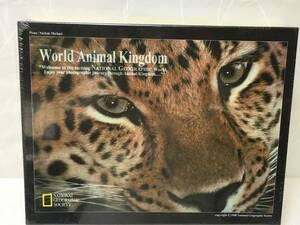 送料無料 ジグソーパズル 500ピース World Animal Kingdom/ワールドアニマルキングダム ヒョウ 380×530mm
