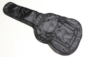 アコギ アコースティック クラシックギター用  ソフトケース  リュックの様に背負う事も出来ます 保護用パッド付 持ち運びに便利♪