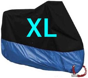 XL バイクカバー バイク カバー XLサイズ 青 オートバイ バイク用 カバー カラー あお ブルー 200 250 400 600 750 防水 UVカット