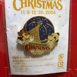 ディズニー クリスマス ミッキー ミニー ピンバッジ